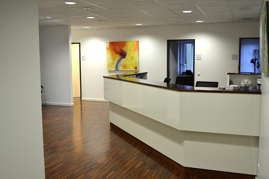 Umbau und Einrichtung Arzt Praxis